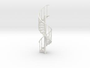 s-35-spiral-stairs-rh-x18 in White Natural Versatile Plastic