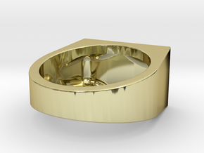 Squares Ring 16.1mm ID in 18k Gold