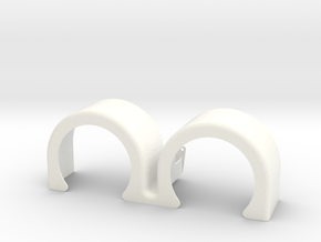 double hump fender 2 in White Processed Versatile Plastic: 1:14