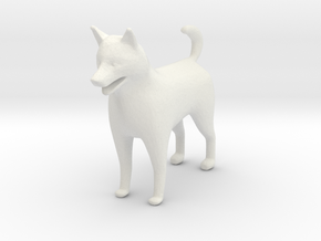 G scale shelti dog H in White Natural Versatile Plastic