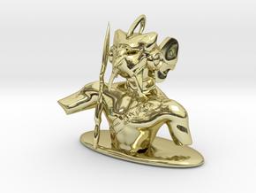 Horus for chess in 18k Gold