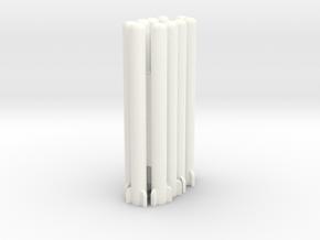 1:100 Pelican Stoner Missiles in White Processed Versatile Plastic