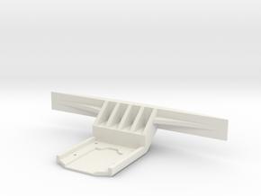 Carisma GT24B Bumper in White Premium Versatile Plastic