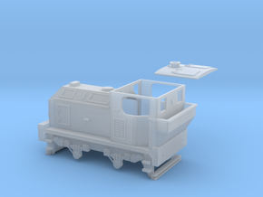 00 Scale 100hp (Post-War) Sentinel Shunter in Smooth Fine Detail Plastic