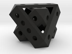 Duo-Tet Mega (metal) in Black Natural Versatile Plastic