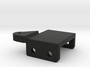RS10 Upper Link Mount in Black Natural Versatile Plastic