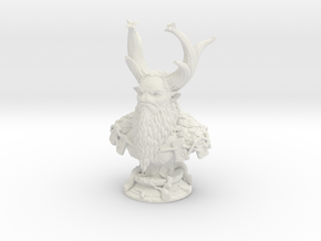 NATURES PROPHET for print with sides scaled 8cm 2m in White Natural Versatile Plastic: Large