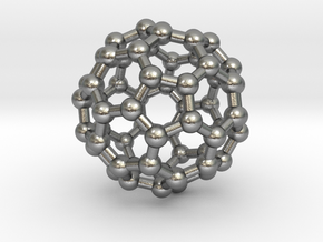 Buckminsterfullerene  (Bucky Ball) in Natural Silver