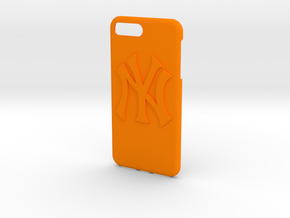 New York Yankees Iphone 7  in Orange Processed Versatile Plastic