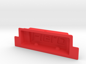 Pontiac Fiero ashtray insert for non-smokers :-) in Red Processed Versatile Plastic