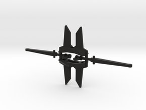 2 x AC-14 3000 lbs anchors 1:96 or 1:48 in Black Natural Versatile Plastic: 1:96