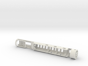 Imperial Knight - Padawan Lightsaber Chassis in White Natural Versatile Plastic