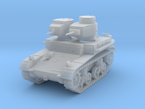 """PV42B M2A2 """"Mae West"""" Light Tank (1/100) in Smooth Fine Detail Plastic"""