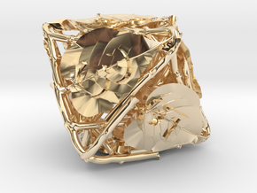 Botanical Die8 (Lilac) in 14K Yellow Gold