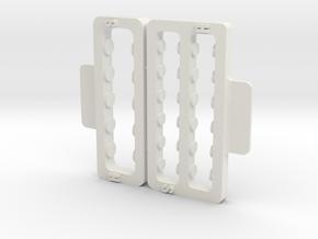 spring storage GL Racing GLR in White Natural Versatile Plastic