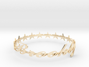 SPECIAL Brooklyn Bracelet -50% OFF in 14k Gold Plated Brass