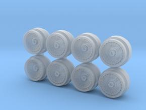 Turbofan Aero 7-3 Hot Wheels Rims in Smoothest Fine Detail Plastic
