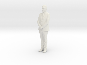 Printle F Hassan-II - 1/18 - wob in White Natural Versatile Plastic