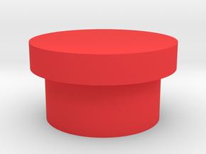 LED cover for dejarik table in Red Processed Versatile Plastic