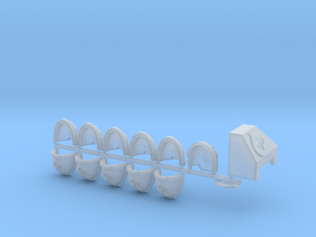 Shark Start Collection Bundle L in Smooth Fine Detail Plastic
