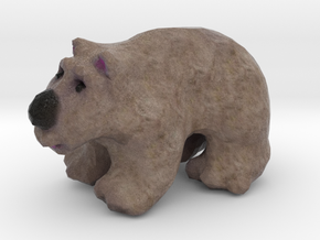 California Golden Bear Figurine in Full Color Sandstone
