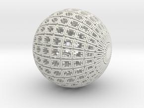 Pouch (Colloidal Vessel 080808) in White Premium Versatile Plastic