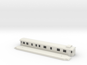 Bo7 - Swedish passenger wagon in White Natural Versatile Plastic