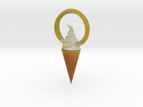 Ice cream in Full Color Sandstone