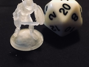 Goblin 2 25mm in Smooth Fine Detail Plastic