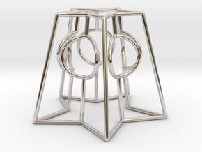 Heart Star Portal  in Platinum