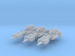 Quasar Frigates (3) (Alternate) in Smooth Fine Detail Plastic