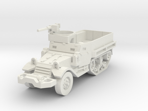 M5A1 halftrack scale 1/87 in White Natural Versatile Plastic