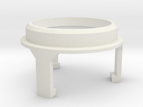 Basic Chassis - Part 4/6 V1 SpeakerHolder Top Veco in White Natural Versatile Plastic