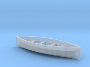 O-scale-life-boat-V3 in Smooth Fine Detail Plastic