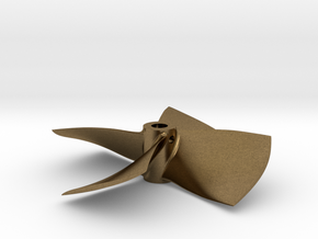 "2.50"" - BKSP RH - 3/16"" Shaft in Natural Bronze"