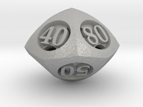 Overstuffed Decader d10 in Aluminum