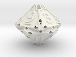 Premier Die10 in White Premium Versatile Plastic