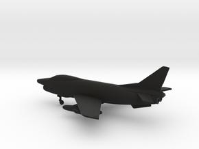 Fiat G.91Y in Black Natural Versatile Plastic: 1:160 - N