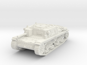M42 carro comando scale 1/100 in White Natural Versatile Plastic
