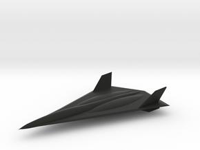 Lockheed Martin SR-91 Aurora in Black Premium Strong & Flexible: 6mm