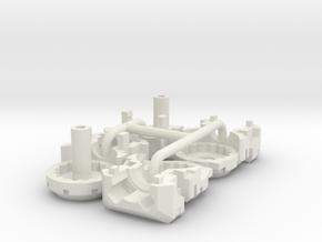 Lavi Combiner Knees 1 of 2 in White Natural Versatile Plastic