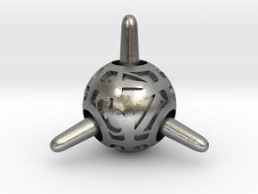 Sputnik d4 in Natural Silver