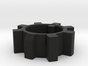 AR-15 Bolt bowl for small change etc. in Black Natural Versatile Plastic