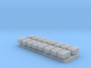 1:350 Scale Mk 84 Bomb Pallets in Smooth Fine Detail Plastic