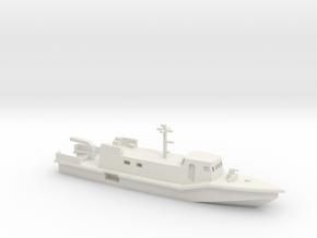 1/285 Scale K-180 Italian Patrol Boat in White Natural Versatile Plastic