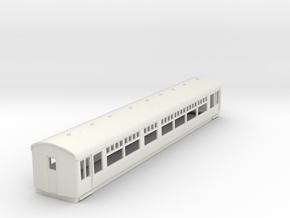o-76-lner-trailer-1st-coach in White Natural Versatile Plastic