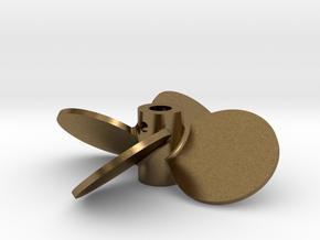 "2.00"" - BBP 40º RH - 3/16"" Shaft in Natural Bronze"