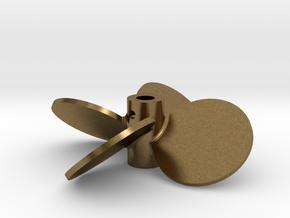 "2.25"" - BBP 40º RH - 3/16"" Shaft in Natural Bronze"