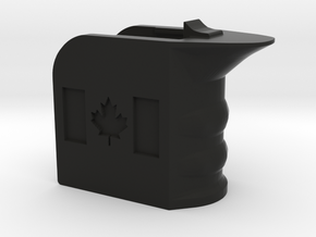 Durable M4/AR15 Magwell Grip in Black Natural Versatile Plastic