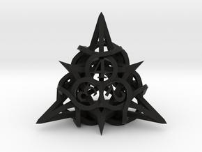 Thorn Die4 in Black Premium Versatile Plastic